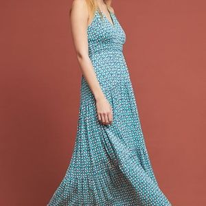 MABEL MAXI HALTER DRESS by Maeve